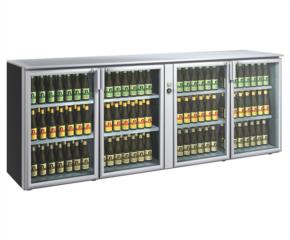 Tavolo per esposizione bottiglie alla giusta temperatura