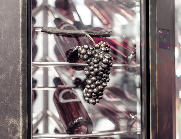 Calco di un grappolo d'uva
